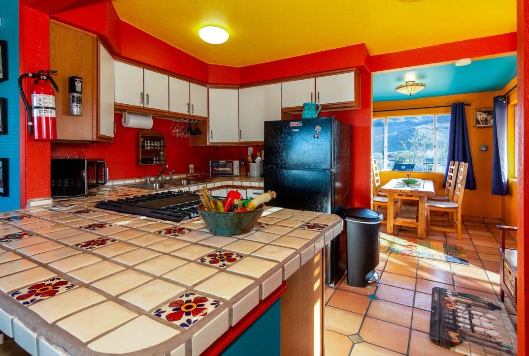 Chuck's Cabin kitchen