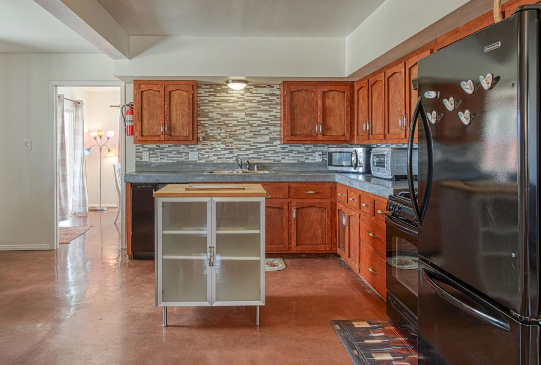 Harmonic House rental kitchen